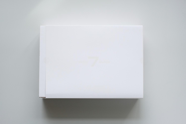 GoPro HERO7 Black ダスクホワイト リミテッドエディションボックス 外箱