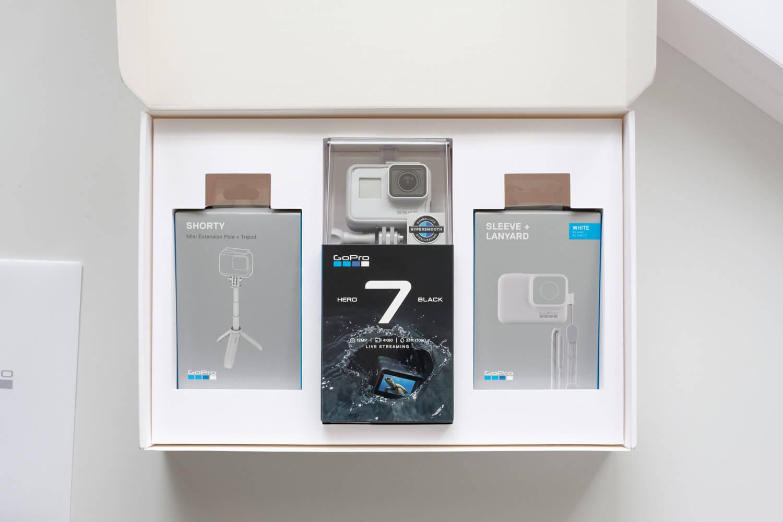 【開封レビュー】GoPro HERO7 ブラック リミテッドボックスを購入!ダスクホワイトが良い色。