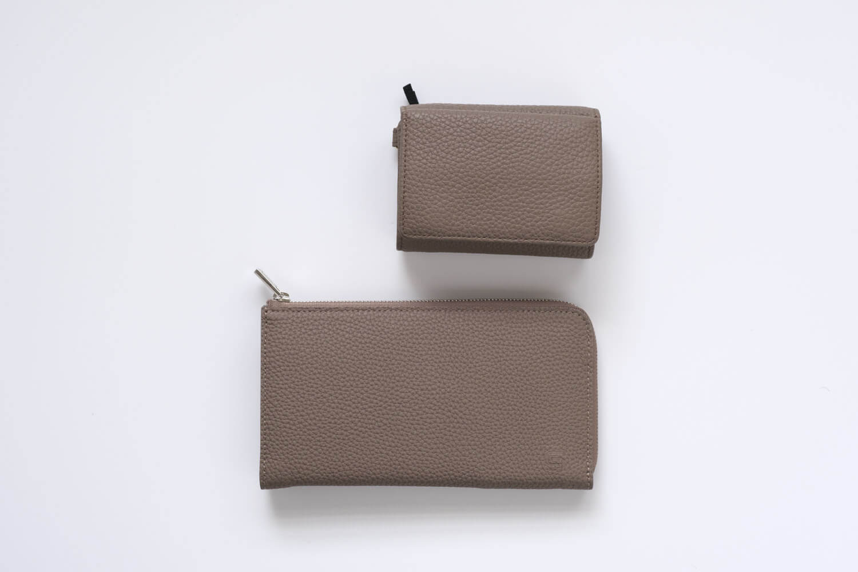 GRAMAS German Shrunken-calf Smart Organizer Walletと以前使っていたKEBERA9981のキーケース付き財布を比較