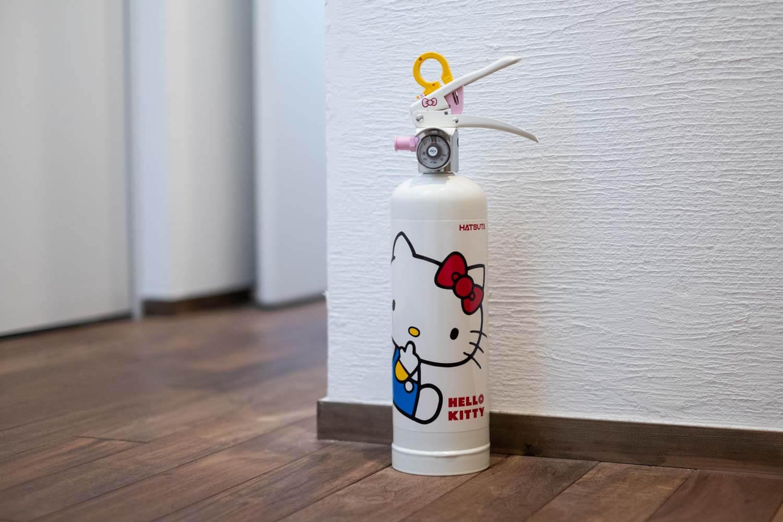初田 キティ消火器全体
