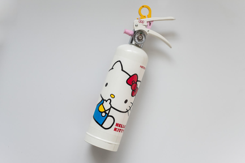 初田 キティ消火器 全体2