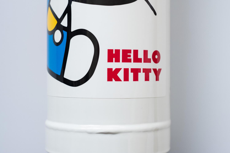 初田 キティ消火器 ロゴアップ