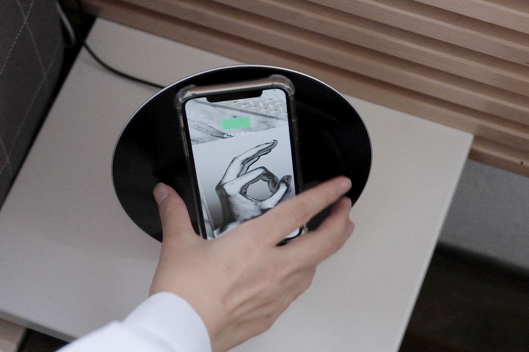 HIGHLOOP(ハイループ)スマホストラップ 無接触充電