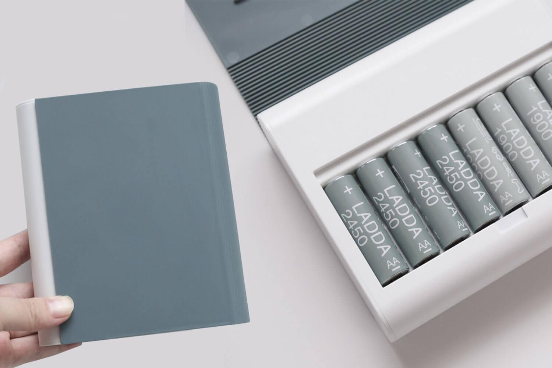 【レビュー】IKEAのブック型 電池充電器「TJUGO」とLADDA電池がかわいくてお気に入り