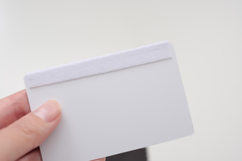 iPad Pro 2018 背面フィルム クリア レザーエンボス 気泡を取るカードみたいな