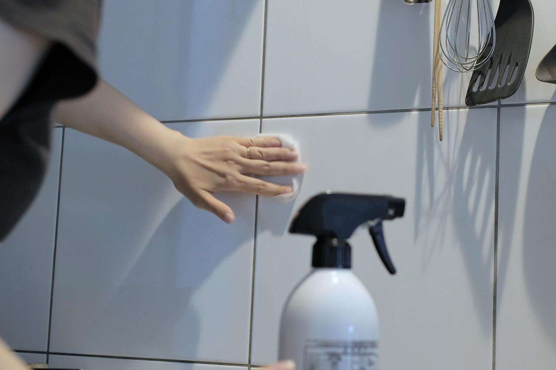 ジェームスマーティン 除菌用アルコールスプレー キッチン拭き