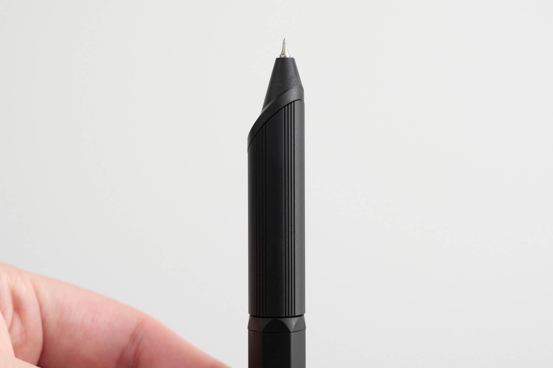JETSTREAM EDGE 3(ブラック)の黒ペン先