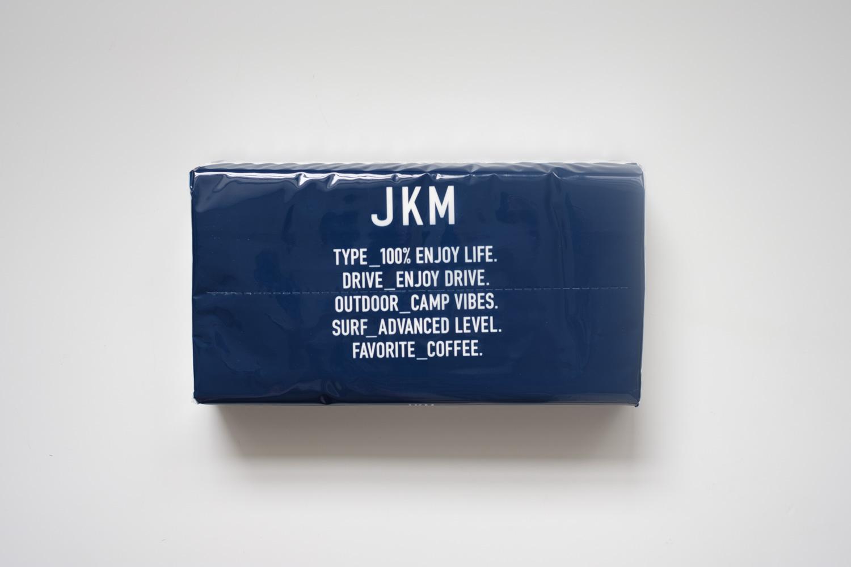 オートバックス JKM ティッシュ ネイビー