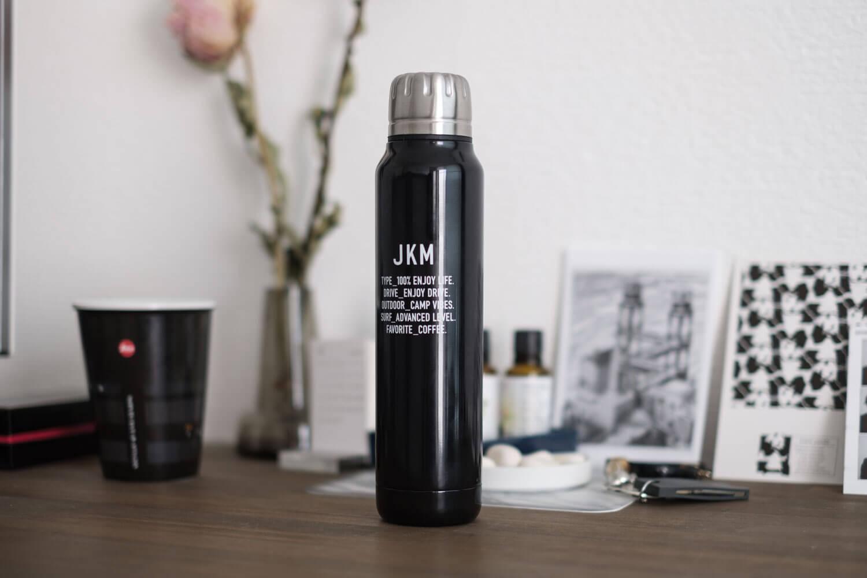 JKMの水筒 サーモマグ アンブレラボトルレビュー。折りたたみ傘モチーフの細身デザインが魅力【PR】