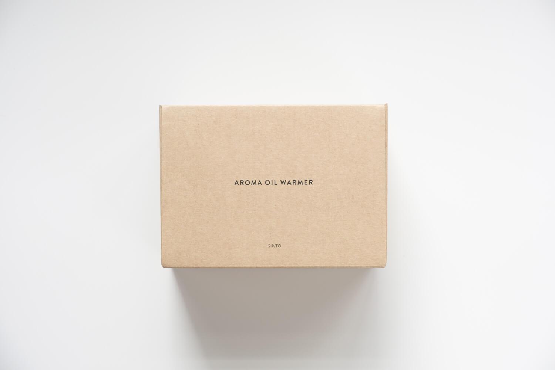 KINTO アロマオイルウォーマーの箱