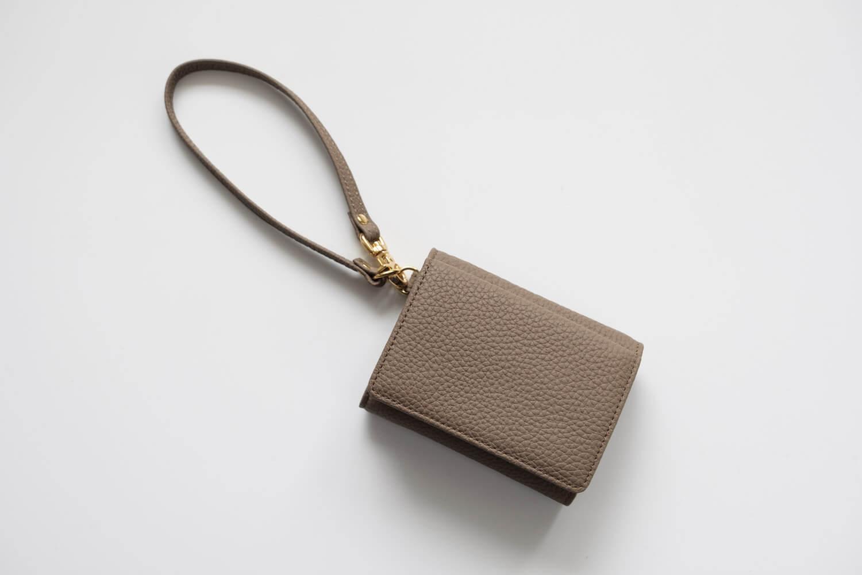 KUBERA9981 シュランケンカーフキーケース付き財布 トープ ストラップ付属