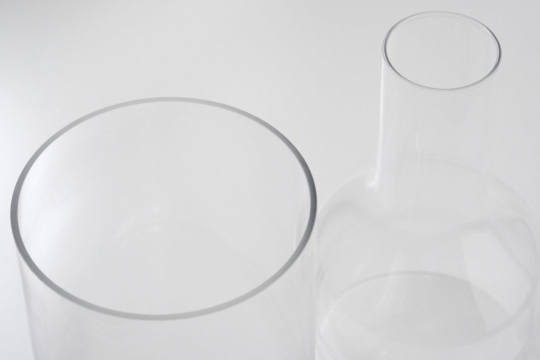 スパイスのラボグラス(LABO GLASS)フラワーベースのフチの加工