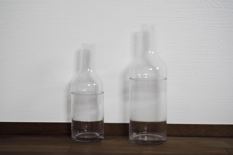 スパイスのラボグラス(LABO GLASS)フラワーベースを組み立てたところ