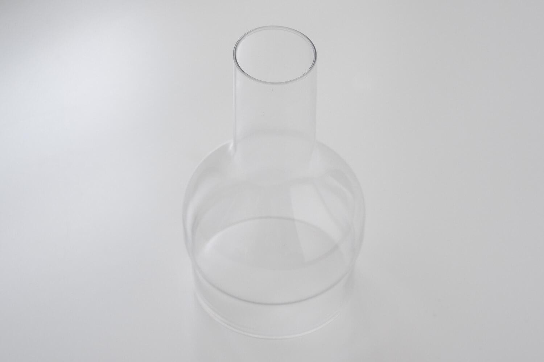 スパイスのラボグラス(LABO GLASS)フラワーベースの上部は瓶のような形
