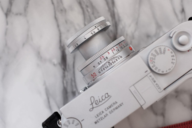 Leica M10-P シルバークローム エルマー 50mm F2.8
