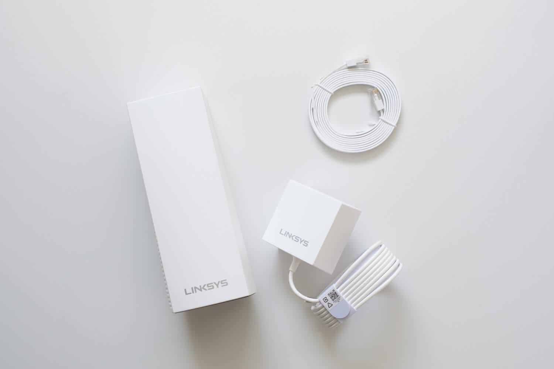 LINKSYS VEROP メッシュWi-Fi  トライバンド 本体と付属品