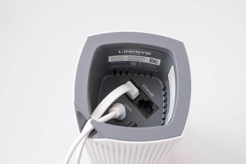 LINKSYS VEROP メッシュWi-Fi トライバンド ケーブル通し