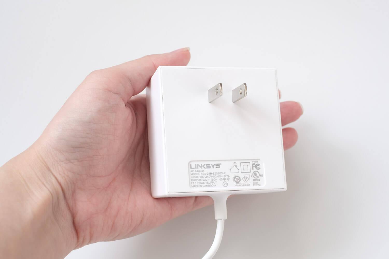 LINKSYS VEROP メッシュWi-Fi トライバンド ACアダプター