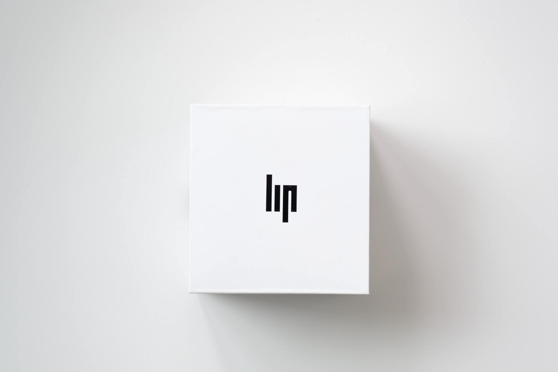 LIP(リップ)MACH mini(マッハミニ) シルバーメッシュバンドの外箱