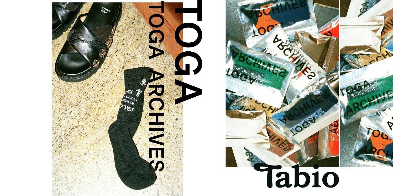 TOGA×Tabioコラボ靴下1