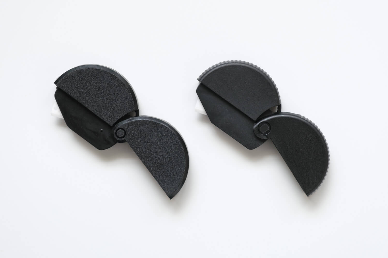 ミドリ ダンボールカッター ニューモデル 35409006(ブラック)旧モデルとの比較3