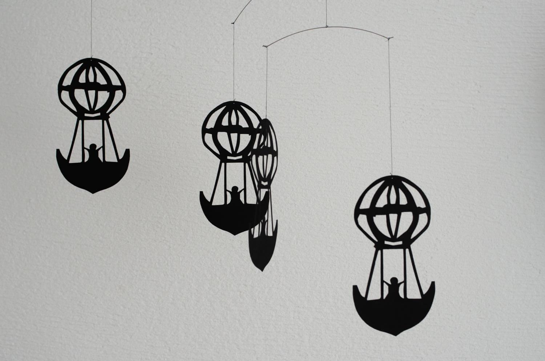 フレンステッドモビール 寝室に気球を飾ってみた1