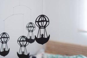 フレンステッドモビール 寝室に気球を飾ってみた2