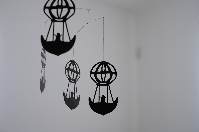フレンステッドモビール 寝室に気球を飾ってみた3