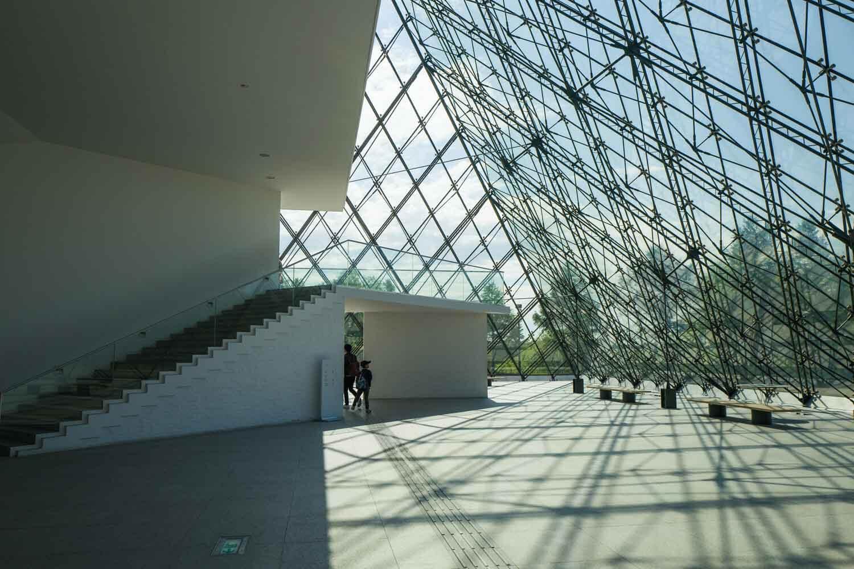 モエレ沼公園 ガラスのピラミッド13