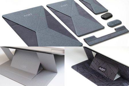 MOFTスタンドシリーズまとめ。ラップトップスタンドもタブレットやスマホ用のスタンドもあり、デザインがいいのが魅力