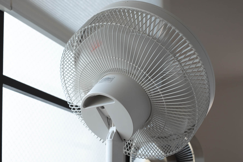 無印良品 DC扇風機 ファン部分の縦振り