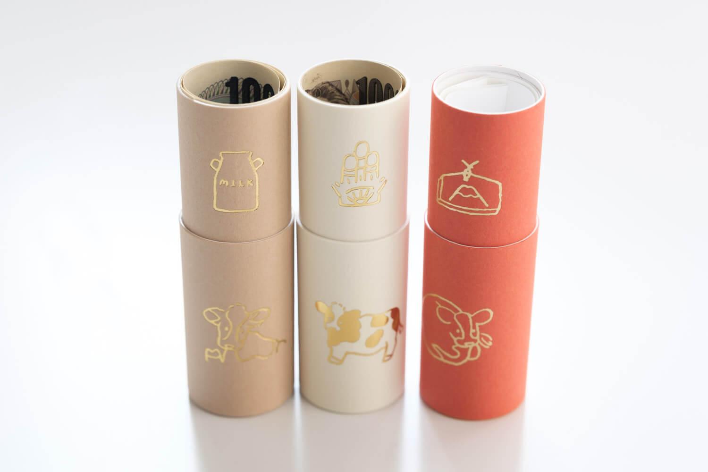 大成紙器製作所 POCHI-PON うしポチ袋はお札サイズにピッタリでうれしい