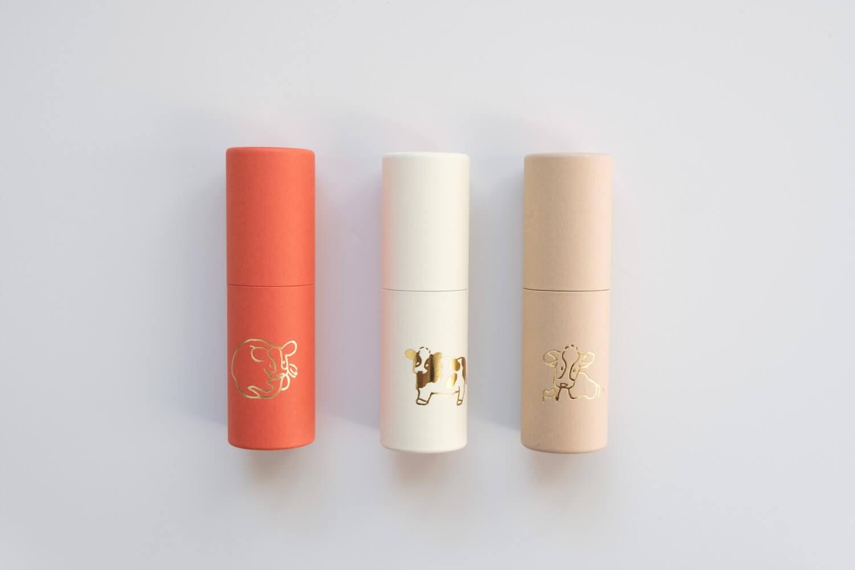 大成紙器製作所 POCHI-PON うしポチ袋は赤・白・ベージュ