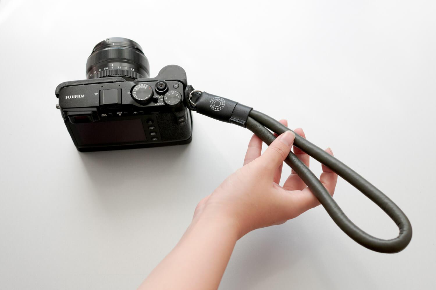 ポーターフラッグシップストア限定!カメラ用ラムレザーハンドストラップ「BRESSON」をやっと手に入れました!
