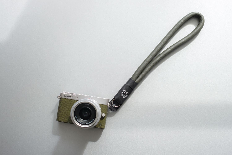 ポーター ラムレザー カメラ ストラップ GM5との組み合わせ