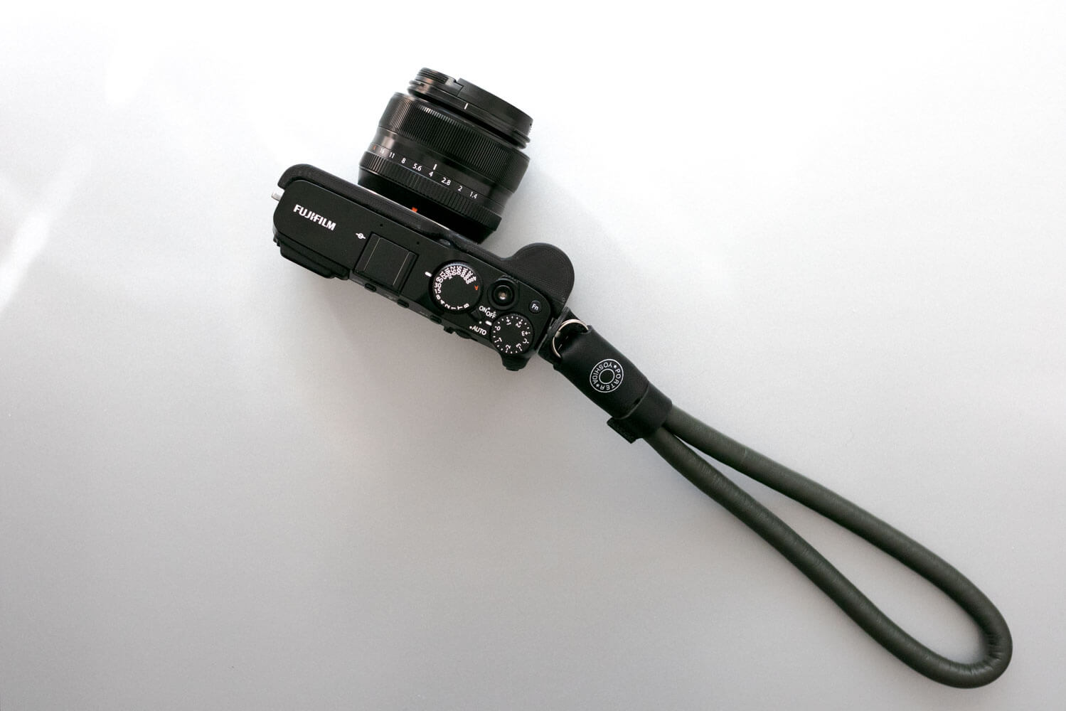 ポーター ラムレザー カメラ ストラップ X-E3との組み合わせ