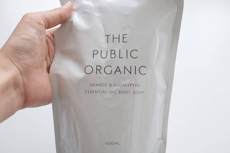THE PUBLIC ORGANIC  ボディソープ オレンジ×ユーカリ詰め替え