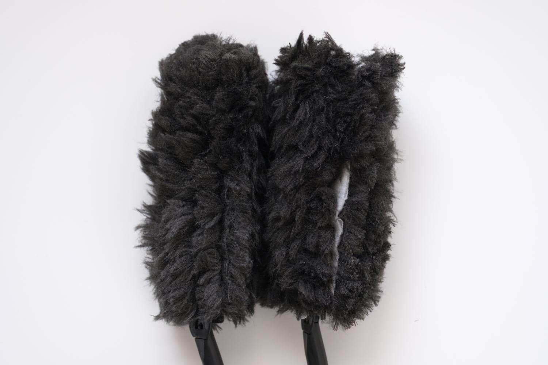 クイックルワイパーハンディ ブラック 2019年版はサイドの不織布もホワイトで違和感がある