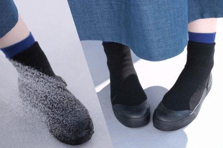 ニット素材の防水レインシューズ RAIN DANCEは雨の日におすすめ【レビュー】
