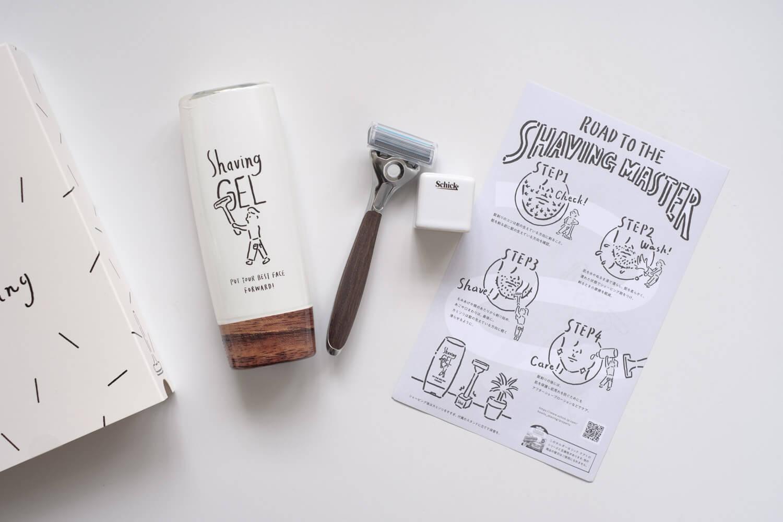 ロハコ限定デザインのカミソリ「シックマイスタイルシェーバー」レビュー。ウッド調で替刃は市販の刃が使える!