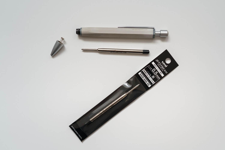 ステッドラー コンクリートボールペン 対応のジェットストリームリフィル