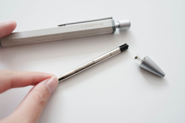 ステッドラー コンクリートボールペン インク2