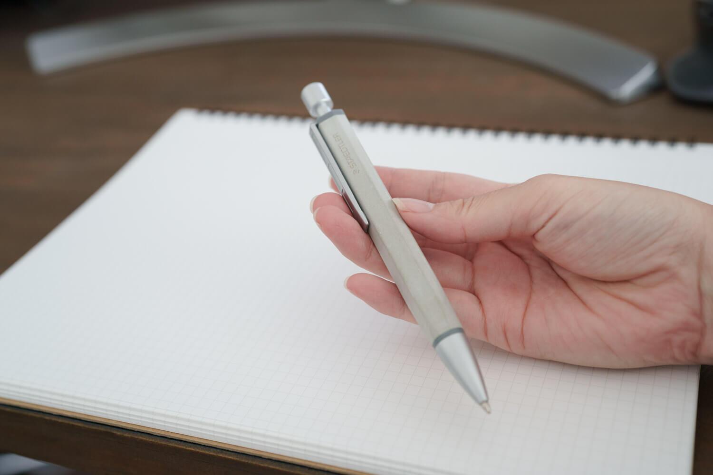 【レビュー】ステッドラー コンクリートボールペンを購入!インクはジェットストリームに交換してみました
