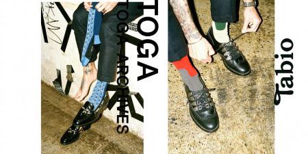 TOGA×Tabioコラボ靴下2