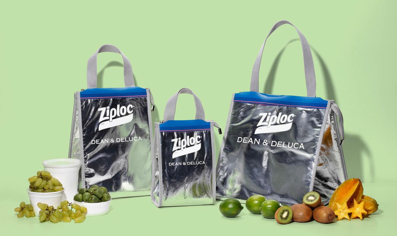 Ziploc × DEAN & DELUCA × BEAMS COUTUREトリプルコラボのクーラーバッグが再販されてLサイズが追加