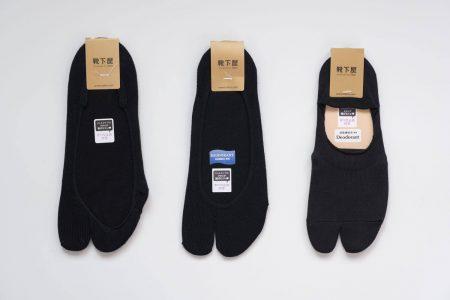 靴下屋の足袋カバーソックス3種類
