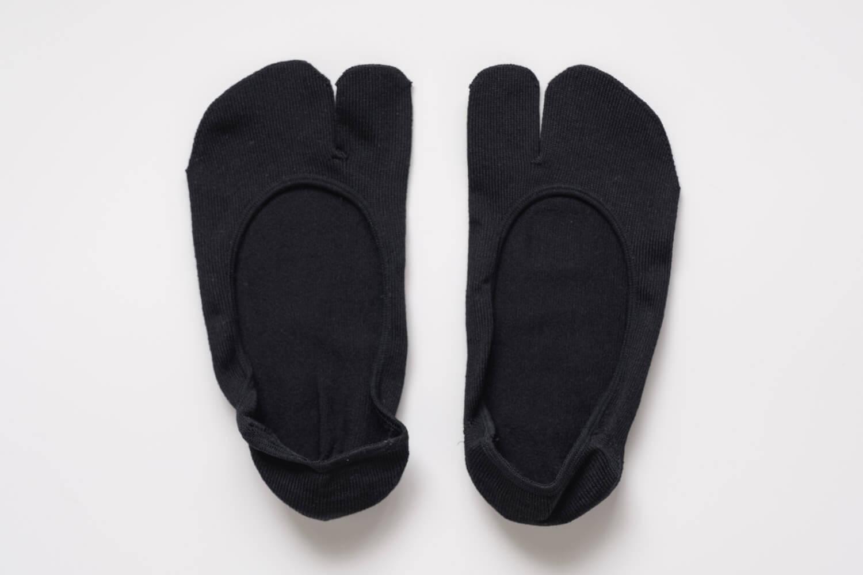 靴下屋のデオドラント足袋カバーソックス 011110185の全体