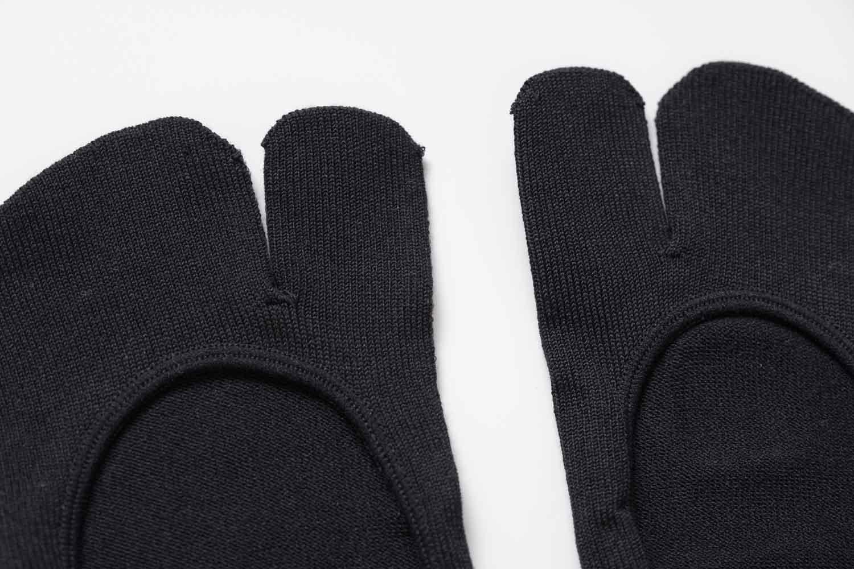 靴下屋のデオドラント足袋カバーソックス 011110185の素材感