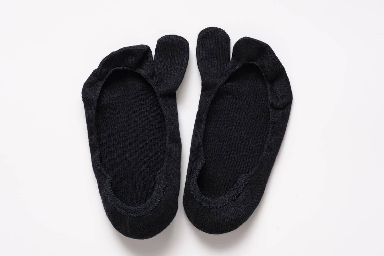 靴下屋の【極浅】足袋カバーソックス 011110126の全体