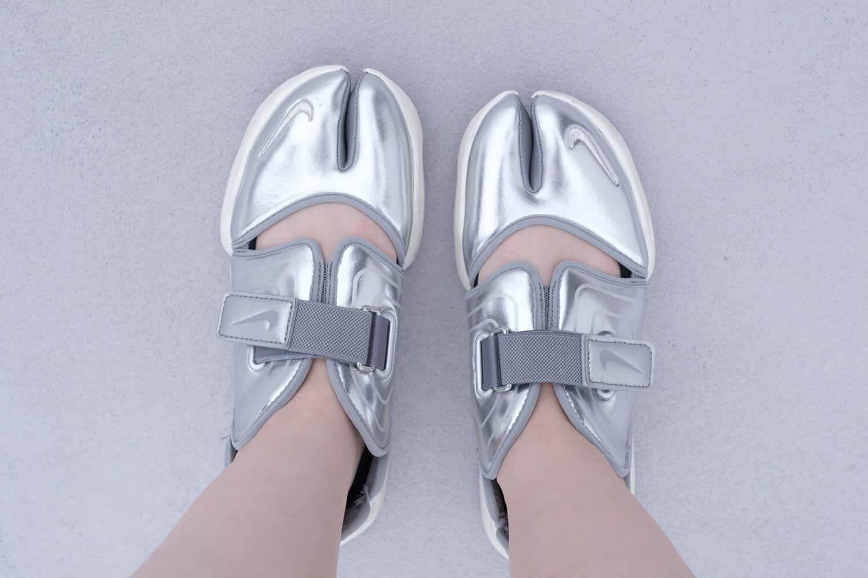 靴下屋の【極浅】足袋カバーソックス 011110126 × アクアリフト